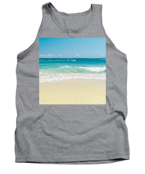 Tank Top featuring the photograph Beach Love by Sharon Mau