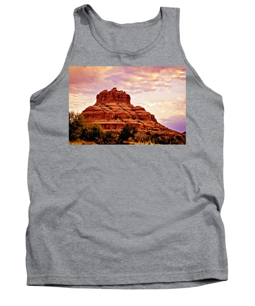 Bell Rock Vortex Painting Tank Top by Bob and Nadine Johnston