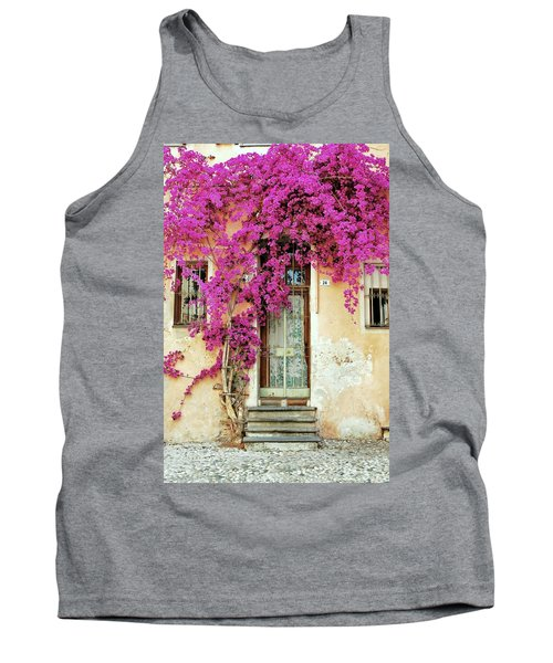 Bougainvillea Doorway Tank Top