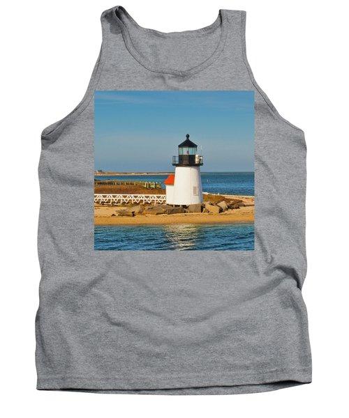 Brant Point Lighthouse Nantucket Tank Top