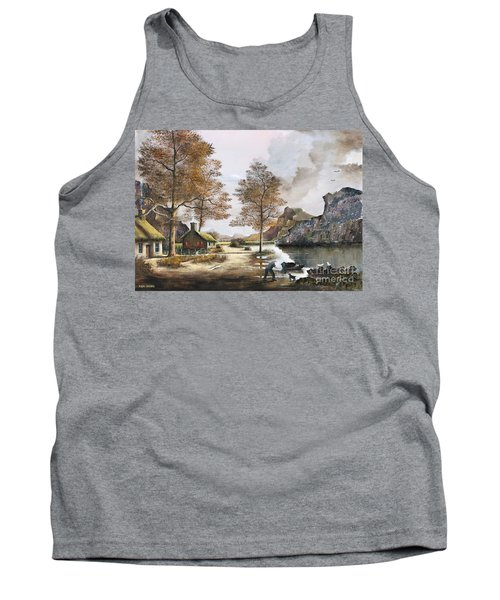 Crofters Cottages Tank Top