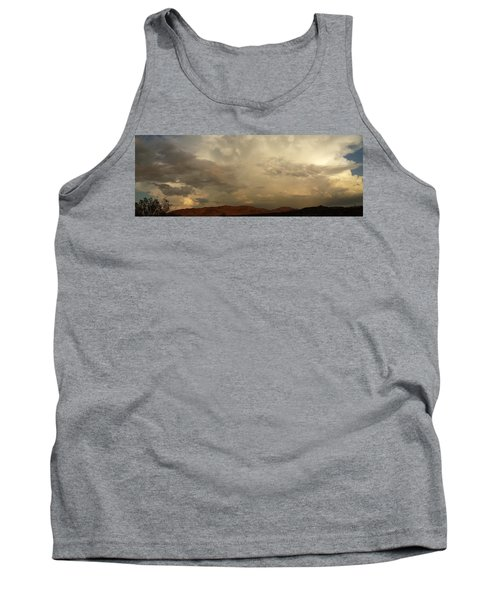 Tank Top featuring the photograph Desert Storm by Chris Tarpening
