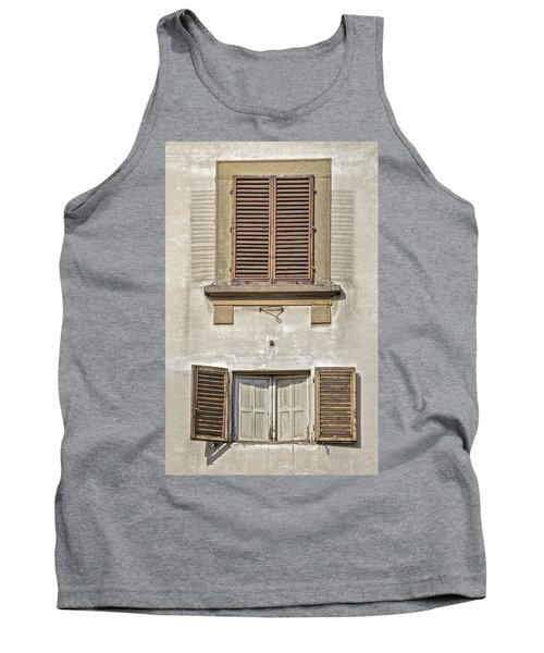 Dueling Windows Of Tuscany Tank Top