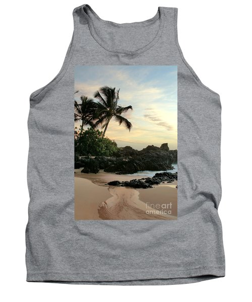 Edge Of The Sea Tank Top by Sharon Mau