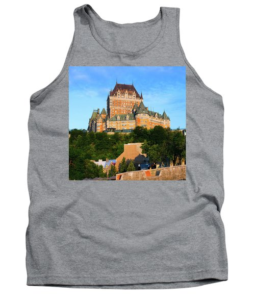 Facade Of Chateau Frontenac In Lower Tank Top