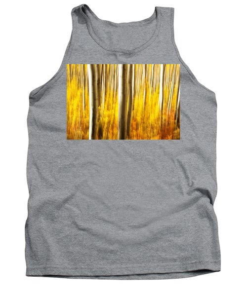 Tank Top featuring the photograph Fall Abstract by Ronda Kimbrow