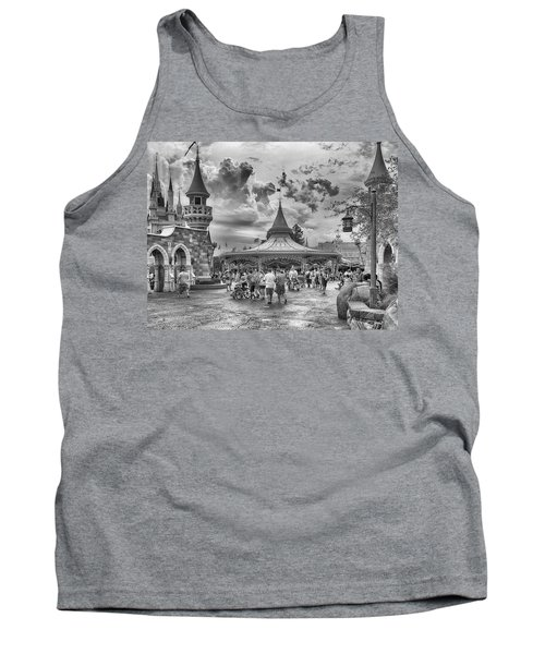 Tank Top featuring the photograph Fantasyland by Howard Salmon