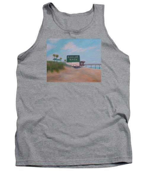 Flagler Beach Florida Tank Top