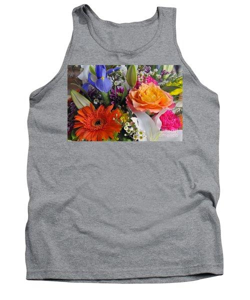 Floral Bouquet 5 Tank Top
