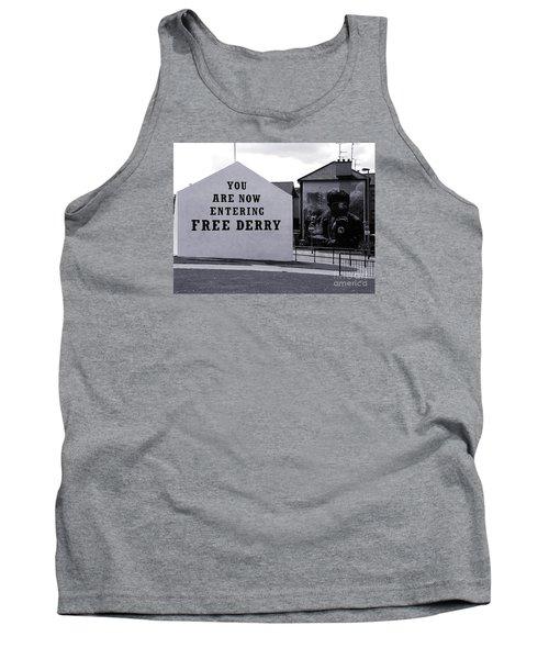 Free Derry Corner 7 Tank Top