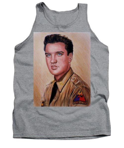 G I Elvis  Tank Top