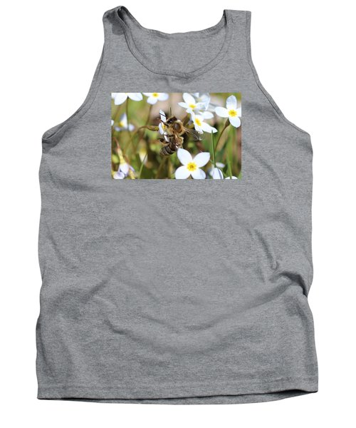 Honeybee On Bluet Tank Top