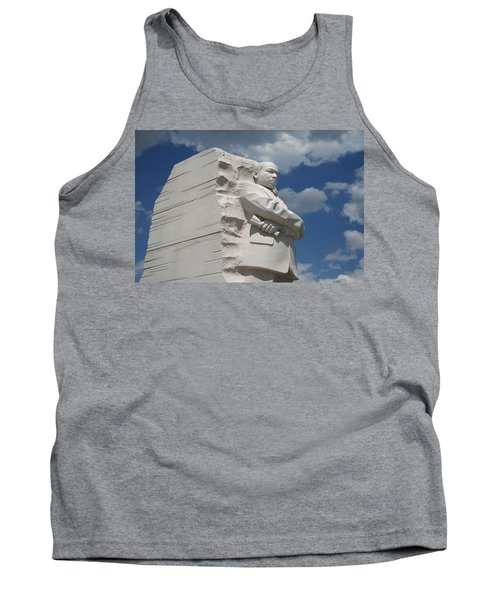 Tank Top featuring the photograph Honoring Martin Luther King by Cora Wandel