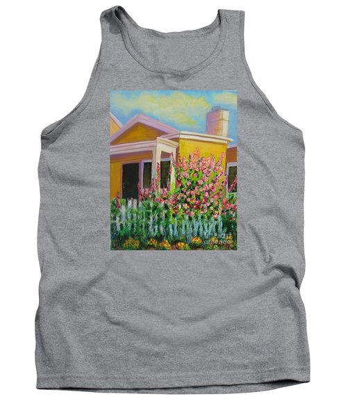 Hot Hollyhocks Tank Top