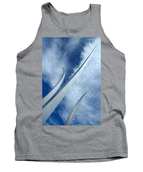 Tank Top featuring the photograph Into The Clouds by Cora Wandel