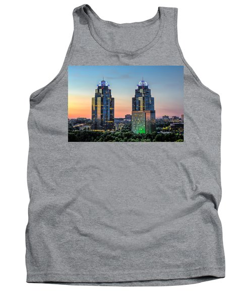 Tank Top featuring the photograph King And Queen Buildings by Anna Rumiantseva