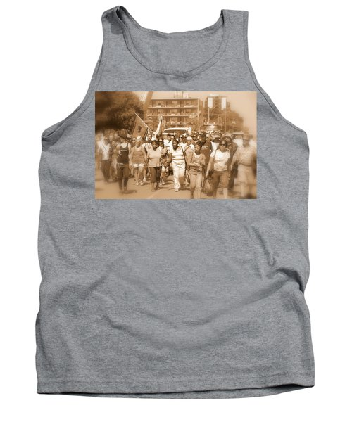 Labor Day Parade Tank Top by Valentino Visentini