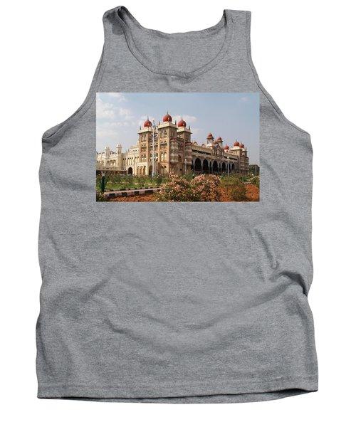 Maharaja's Palace And Garden India Mysore Tank Top