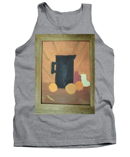 Tank Top featuring the painting #1 by Mary Ellen Anderson