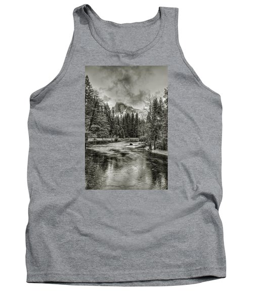 Ascending Clouds Toned Tank Top