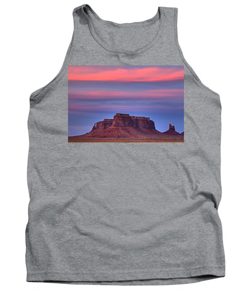 Monument Valley Sunset Tank Top by Alan Vance Ley