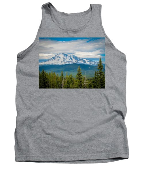 Mt. Adams From Indian Heaven Wilderness Tank Top by Patricia Babbitt