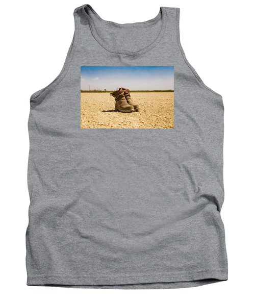 Muddy Work Boots Tank Top
