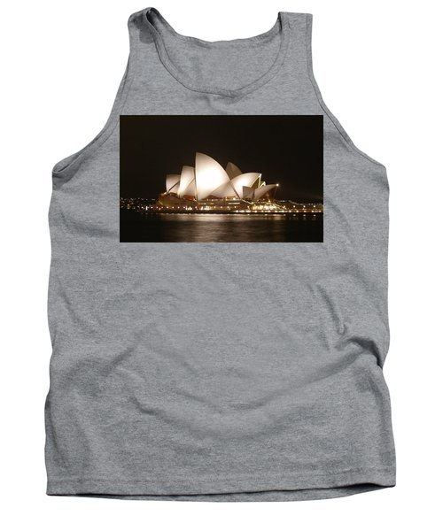 Night At The Opera Tank Top by Ellen Henneke