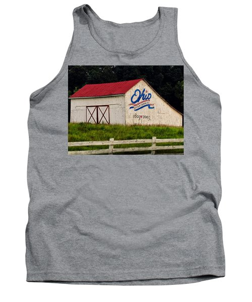 Ohio Bicentennial Barn Tank Top