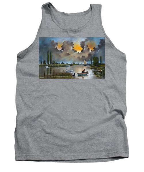 River Yare On The Broads Tank Top