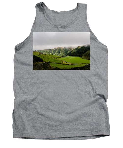 Road Over Valley Tank Top