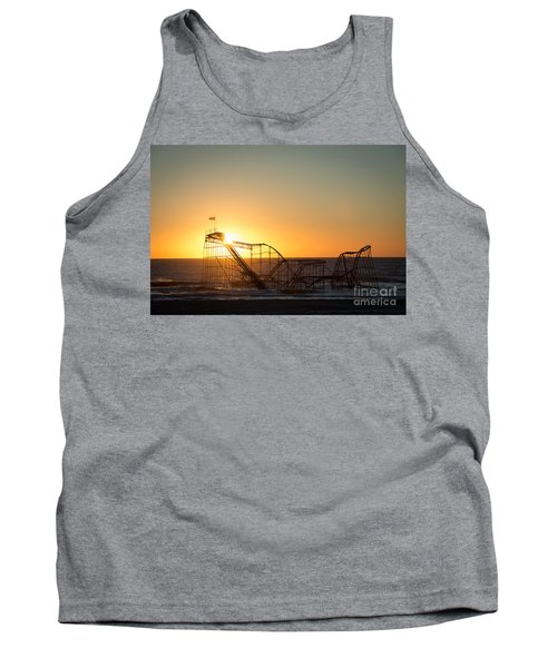Roller Coaster Sunrise Tank Top
