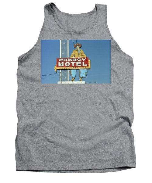 Route 66 - Cowboy Motel Tank Top