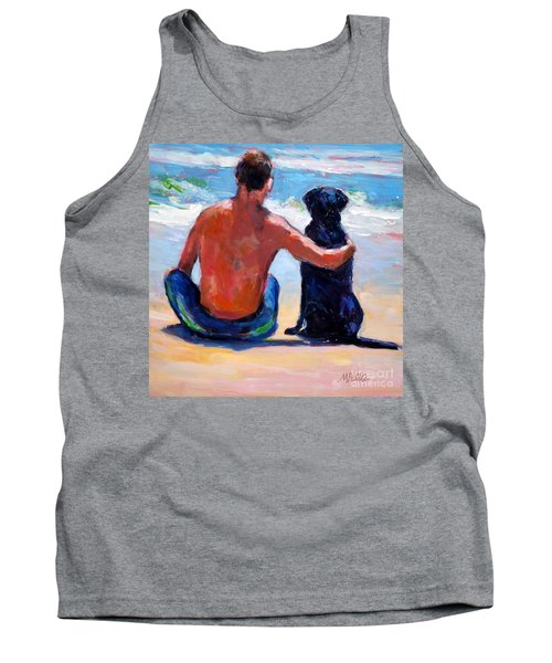 Sand Sea You Me Tank Top by Molly Poole