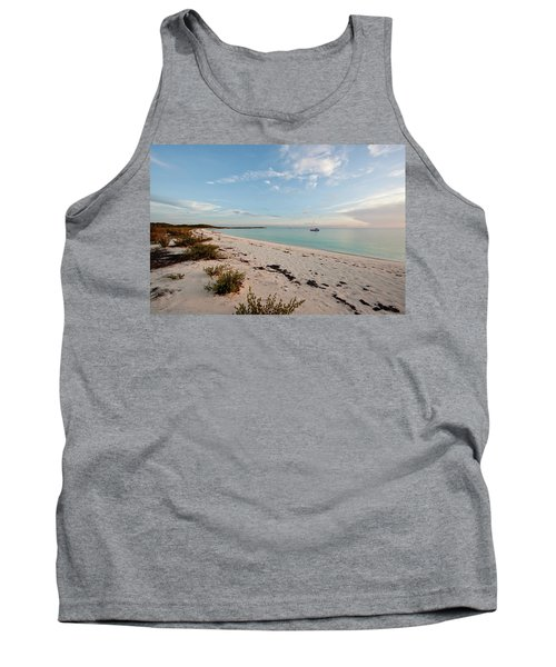 Scenic View Of Beach At Sunset, Great Tank Top
