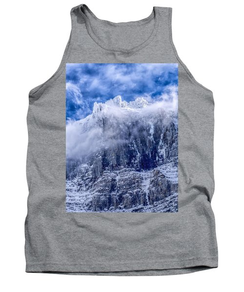 Tank Top featuring the photograph Stone Cold by Aaron Aldrich