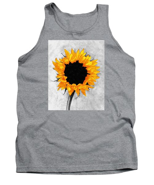 Tank Top featuring the photograph Sun Fire 2 by I'ina Van Lawick