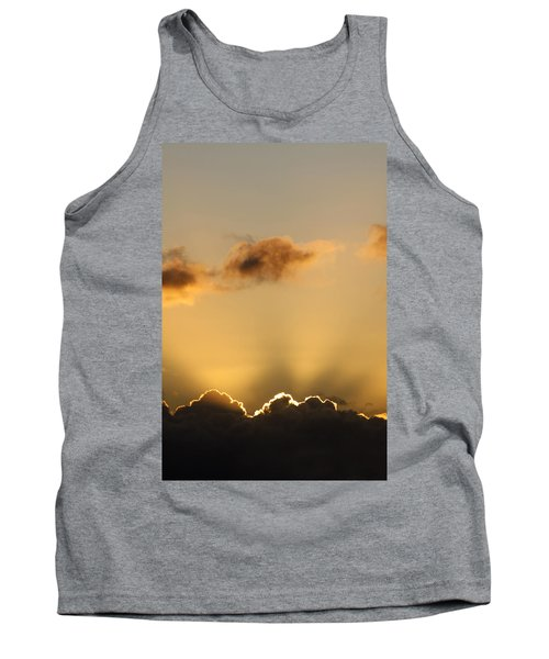 Sun Rays And Dark Clouds Tank Top