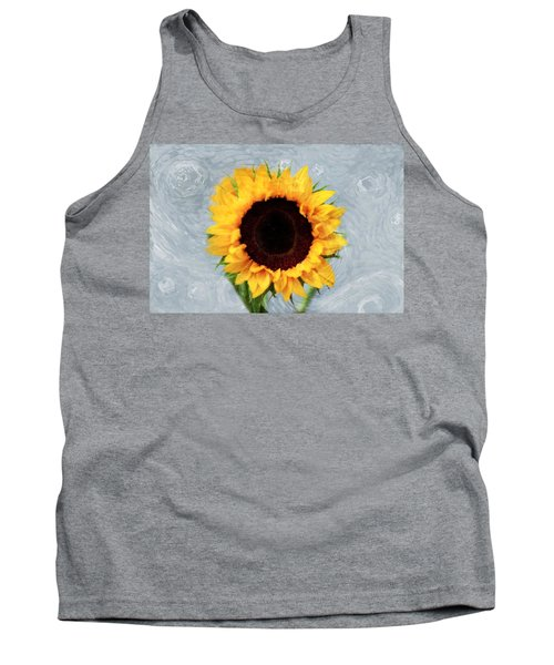Tank Top featuring the photograph Sunflower by Bill Howard