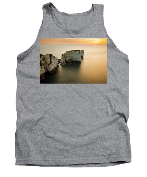 Sunrise Old Harry Rocks Tank Top