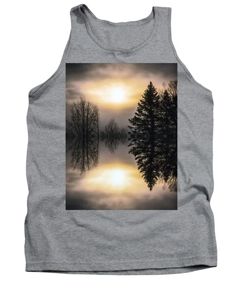 Sunrise-sundown Tank Top