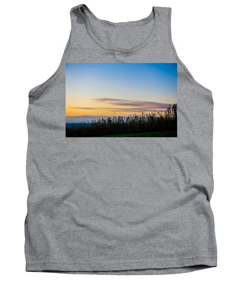 Sunset Over The Field Tank Top