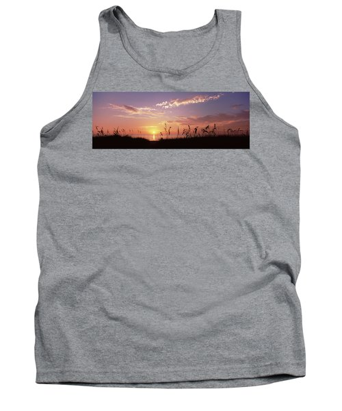 Sunset Over The Sea, Venice Beach Tank Top by Panoramic Images