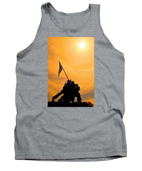 Team Effort Tank Top by Lawrence Boothby