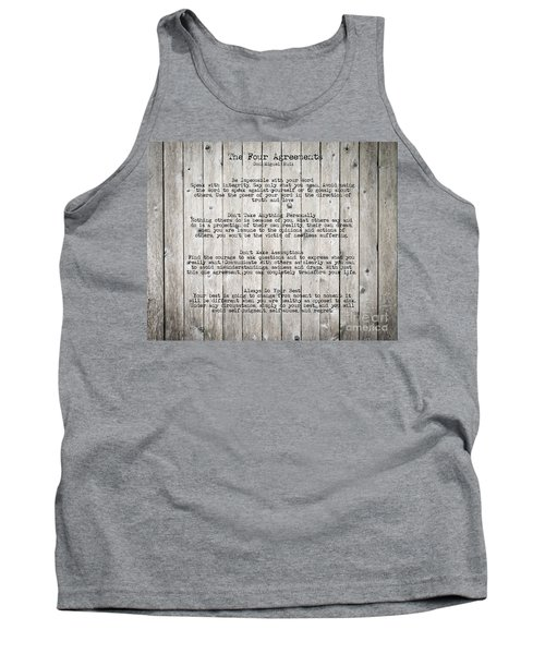 The Four Agreements Tank Top