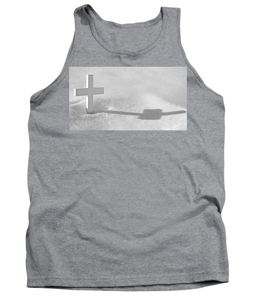 Tank Top featuring the photograph The Grave Of Bobby Kennedy by Cora Wandel