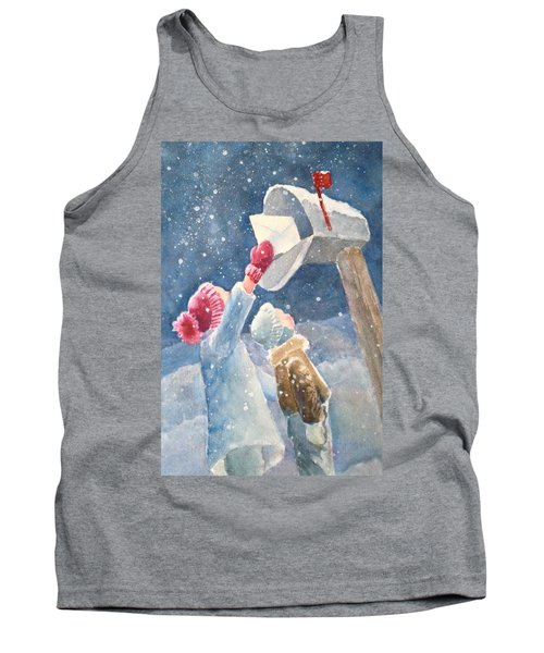 The Letter Tank Top by Marilyn Jacobson