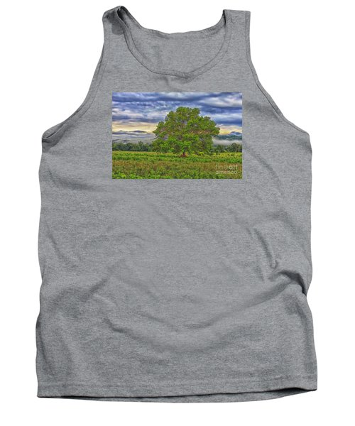 Tank Top featuring the photograph The Tree by Geraldine DeBoer