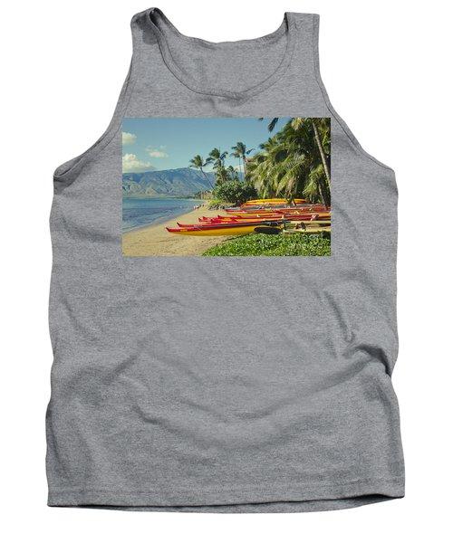 Kenolio Beach Sugar Beach Kihei Maui Hawaii  Tank Top