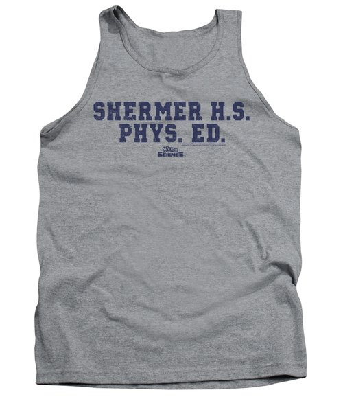 Weird Science - Shermer H.s. Tank Top